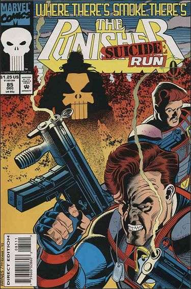 Couverture de Punisher (1987) (The) -85- Suicide run part 0 : smoke & fire