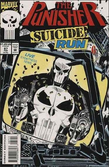 Couverture de Punisher (1987) (The) -87- Suicide run part 6 : false moves
