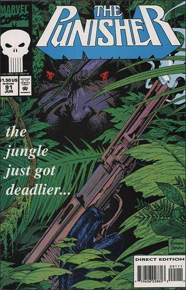Couverture de Punisher (1987) (The) -91- Fortress : miami part 3 : the silk noose