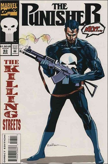 Couverture de Punisher (1987) (The) -93- The killing streets