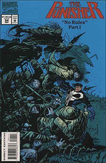 Couverture de Punisher (1987) (The) -94- No rules part 1