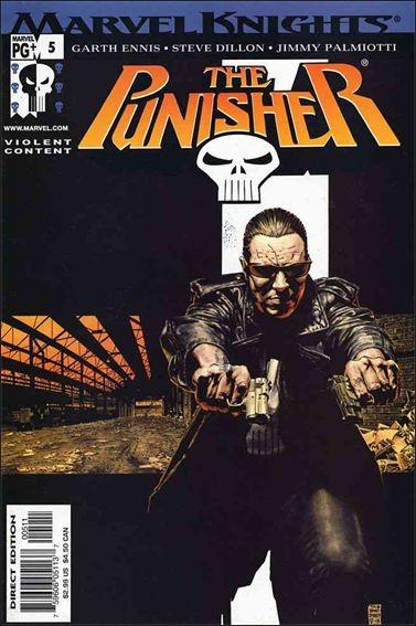 Couverture de Punisher Vol.06 (Marvel comics - 2001) (The) -5- No limits