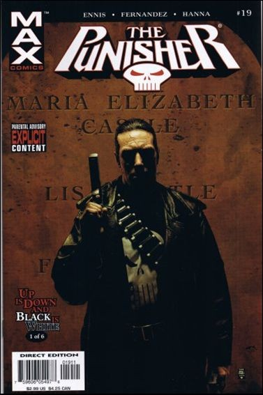 Couverture de Punisher MAX (Marvel comics - 2004) (The) -19- Up is down and black is white part 1