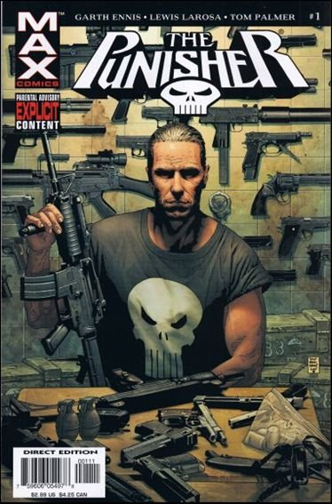 Couverture de Punisher MAX (Marvel comics - 2004) (The) -1- In the beginning part 1
