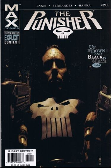 Couverture de Punisher (2004) -20- Up is down and black is white part 2