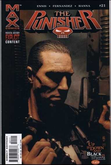 Couverture de Punisher MAX (Marvel comics - 2004) (The) -21- Up is down and black is white part 3