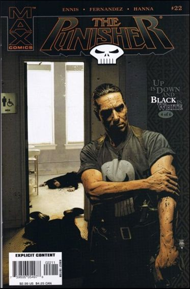 Couverture de Punisher MAX (Marvel comics - 2004) (The) -22- Up is down and black is white part 4