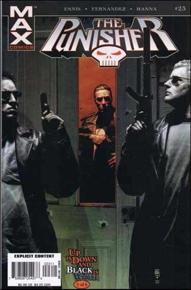 Couverture de Punisher (2004) -23- Up is down and black is white part 5
