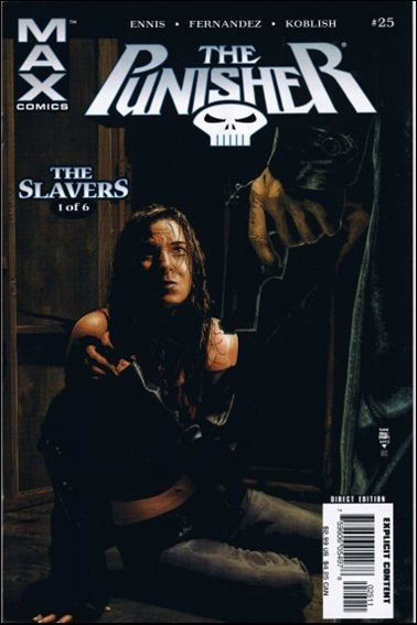Couverture de Punisher MAX (Marvel comics - 2004) (The) -25- The slavers part 1