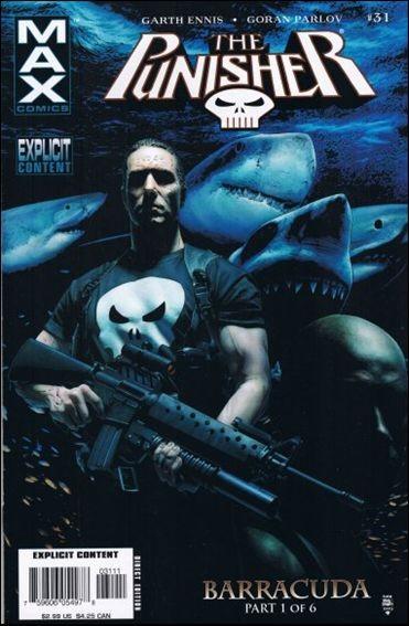 Couverture de Punisher (2004) -31- Barracuda part 1