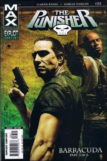 Couverture de Punisher (2004) -33- Barracuda part 3