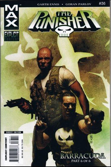 Couverture de Punisher MAX (Marvel comics - 2004) (The) -36- Barracuda part 6