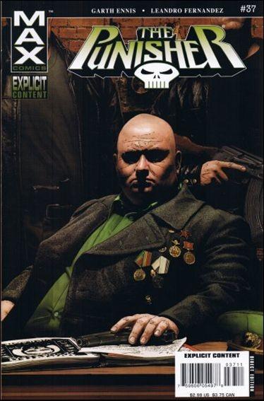 Couverture de Punisher (2004) -37- Man of stone part 1