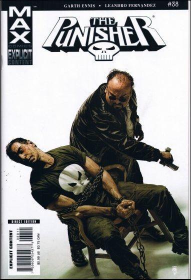 Couverture de Punisher MAX (Marvel comics - 2004) (The) -38- Man of stone part 2