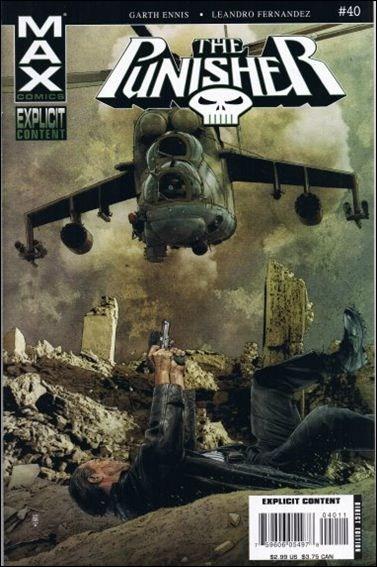 Couverture de Punisher (2004) -40- Man of stone part 4