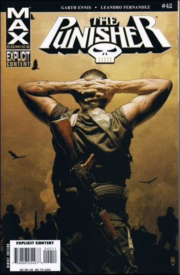 Couverture de Punisher MAX (Marvel comics - 2004) (The) -42- Man of stone part 6