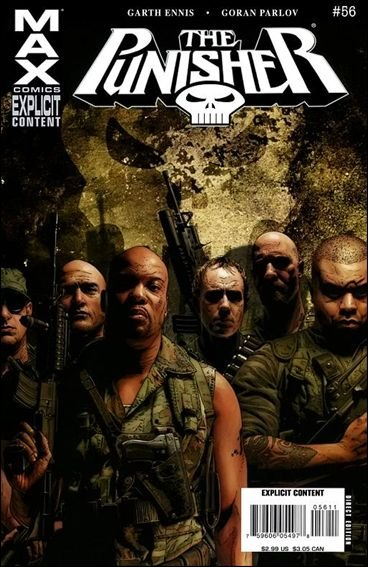 Couverture de Punisher MAX (Marvel comics - 2004) (The) -56- Valley forge, valley forge part 2