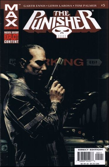 Couverture de Punisher MAX (Marvel comics - 2004) (The) -5- In the beginning part 5
