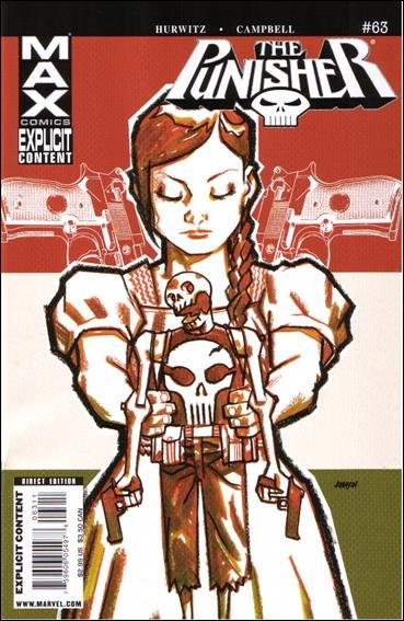 Couverture de Punisher MAX (Marvel comics - 2004) (The) -63- Girls in white dresses part 3 : she is dead