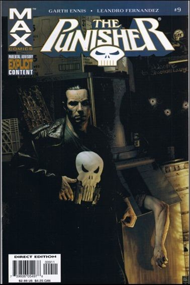 Couverture de Punisher MAX (Marvel comics - 2004) (The) -9- Kitchen Irish part 3