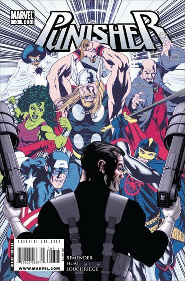 Couverture de Punisher Vol.08 (Marvel comics - 2009) (The) -8- Not titled