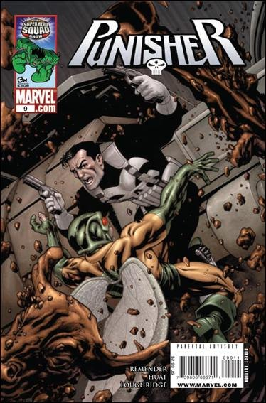 Couverture de Punisher Vol.08 (Marvel comics - 2009) (The) -9- Dead end