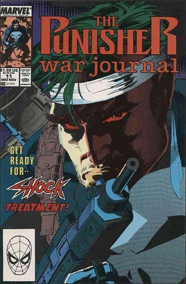 Couverture de Punisher War Journal Vol.1 (Marvel comics - 1988) -11- Shock treatment