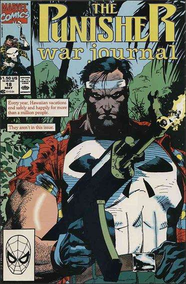 Couverture de Punisher War Journal Vol.1 (Marvel comics - 1988) -18- Kahuna