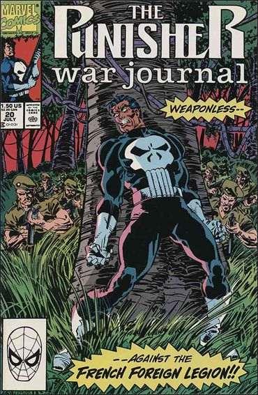 Couverture de Punisher War Journal Vol.1 (Marvel comics - 1988) -20- The debt