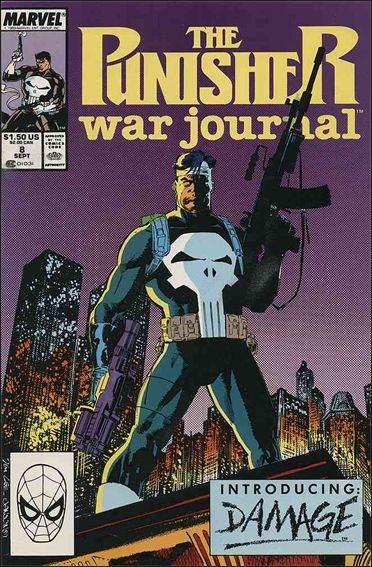 Couverture de Punisher War Journal Vol.1 (Marvel comics - 1988) -8- Crucible