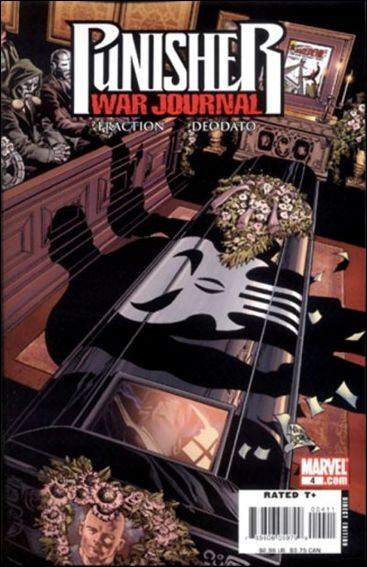 Couverture de Punisher War Journal (2007) -4- Small wake for a tall man
