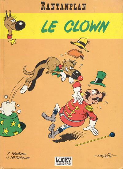 Couverture de Rantanplan -4- Le clown