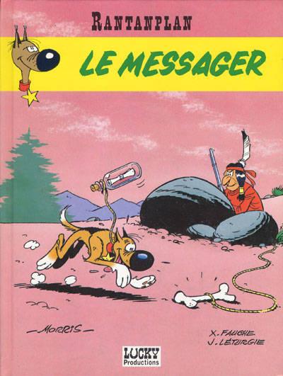 Couverture de Rantanplan -9- Le messager
