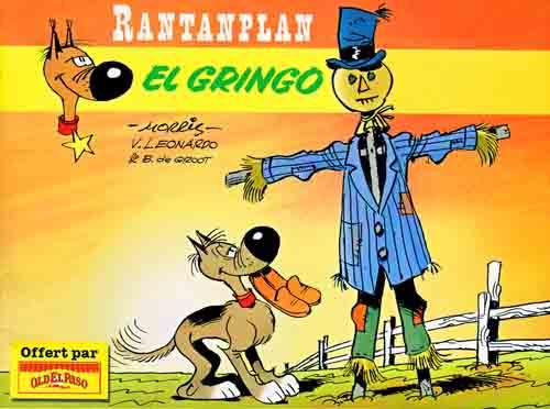 Couverture de Rantanplan -OEP3- El gringo