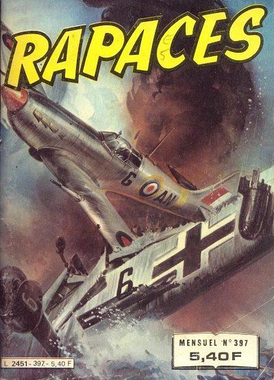 Couverture de Rapaces (Impéria) -397- Raid sur Berlin