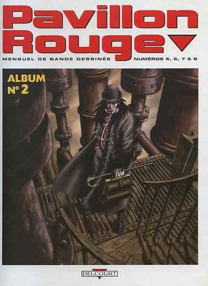 Couverture de (Recueil) Pavillon rouge (Album du magazine) -2- Pavillon rouge