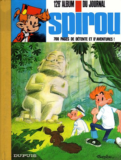 Couverture de (Recueil) Spirou (Album du journal) -128- Spirou album du journal