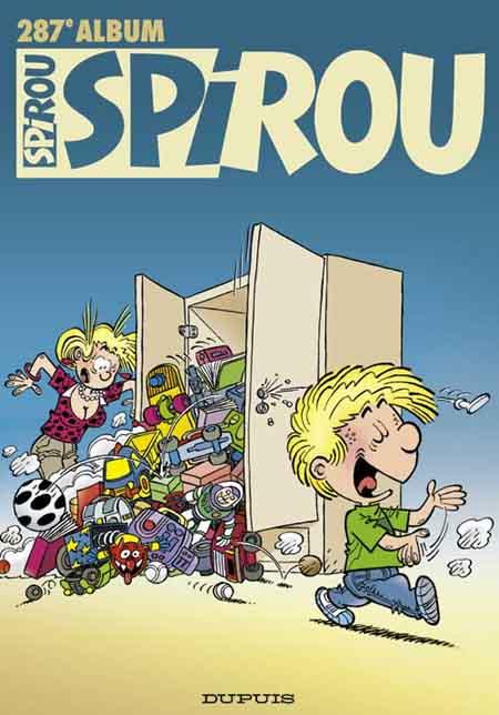 Couverture de (Recueil) Spirou (Album du journal) -287- Spirou album du journal