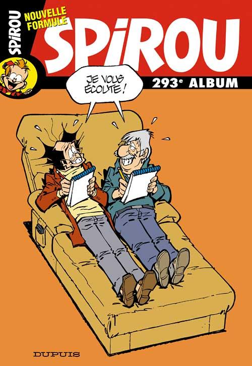 Couverture de (Recueil) Spirou (Album du journal) -293- Spirou album du journal