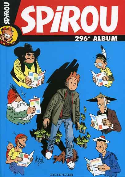 Couverture de (Recueil) Spirou (Album du journal) -296- Spirou album du journal