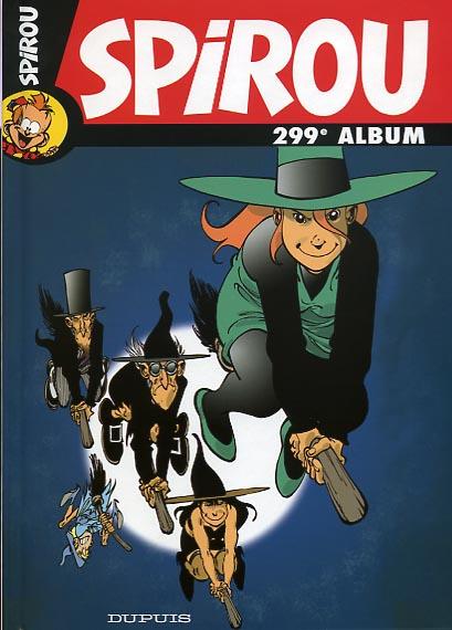 Couverture de (Recueil) Spirou (Album du journal) -299- Spirou album du journal