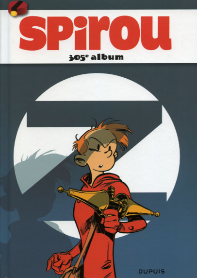 Couverture de (Recueil) Spirou (Album du journal) -305- Spirou album du journal