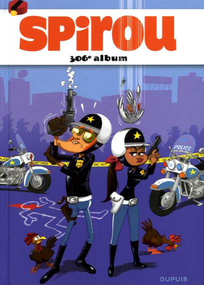 Couverture de (Recueil) Spirou (Album du journal) -306- Spirou album du journal