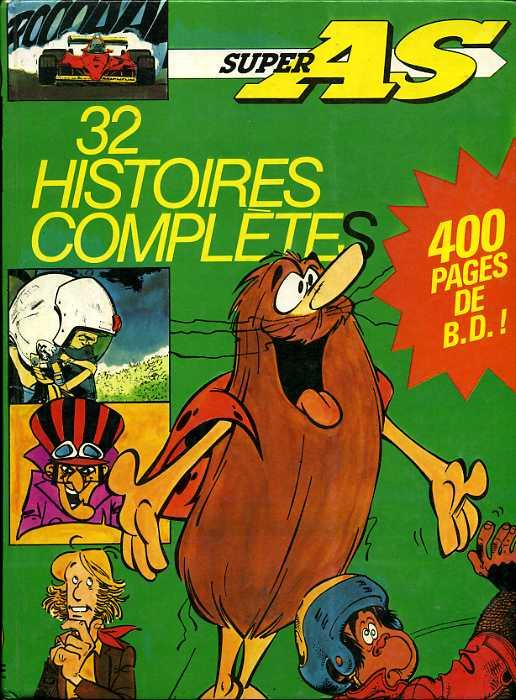 Couverture de (Recueil) Super As -7- Super AS 32 histoires complètes