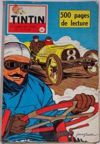 Couverture de (Recueil) Tintin (Album du journal - Édition française) -41- Tintin album du journal