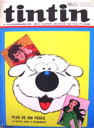 Couverture de (Recueil) Tintin (Album du journal - Édition belge) -109- Tome 109