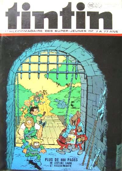 Couverture de (Recueil) Tintin (Album du journal - Édition belge) -113- Tome 113