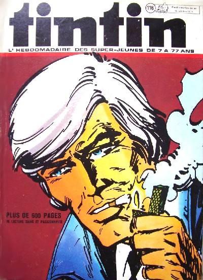 Couverture de (Recueil) Tintin (Album du journal - Édition belge) -116- Tome 116