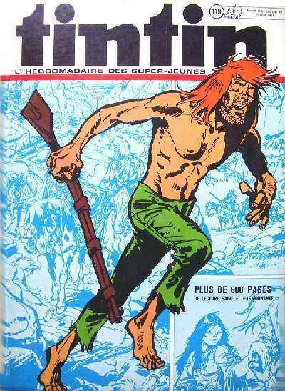 Couverture de (Recueil) Tintin (Album du journal - Édition belge) -119- Tome 119