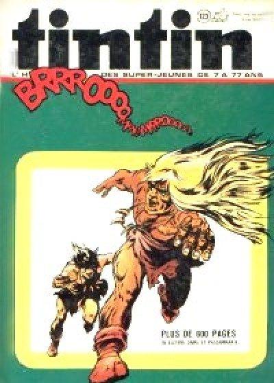 Couverture de (Recueil) Tintin (Album du journal - Édition belge) -123- Tome 123